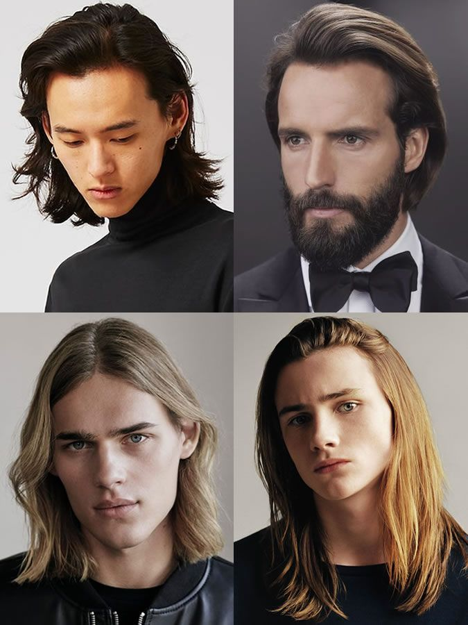 How To Grow Your Hair Out Key Long Hairstyles For Men Straight