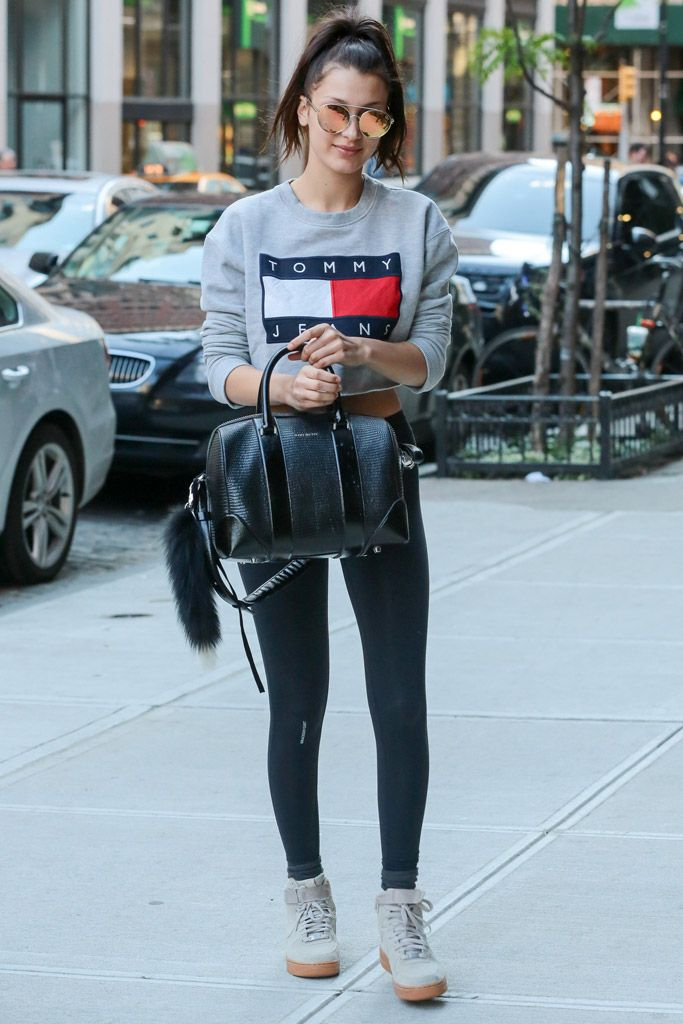 Bella Hadid Street Style: 6 Times the Model Showed Some Love for These Nike  Sneakers