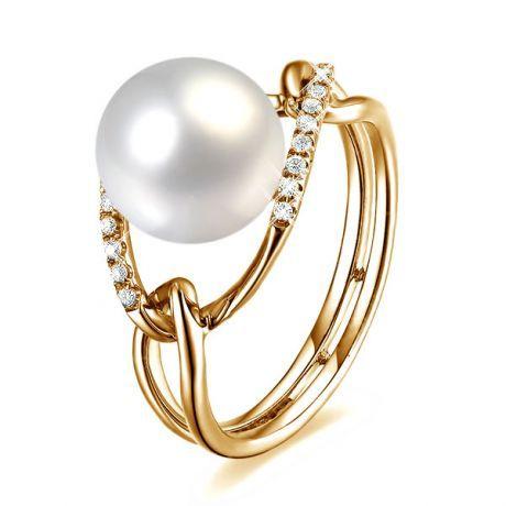 Bague perle de culture – Bague avec perle – Bague or et perle de culture