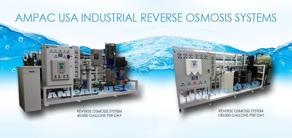 Ampac Usa Best Reverse Osmosis Seawater Desalination Watermakers Reverse Osmosis Water Treatment System Seawater Desalination