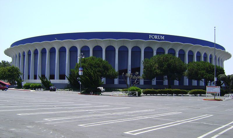 Basketball S Most Iconic Arena Was Built In A Fit Of Pique Inglewood L A The Forum Coliseum Inglewood Inglewood California California