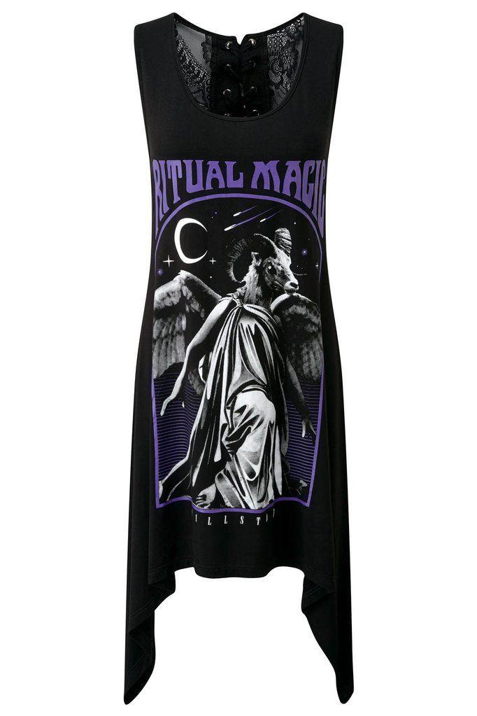 2fad8e8337 Ritual Decadence Vest Top  B  Killstar Clothing