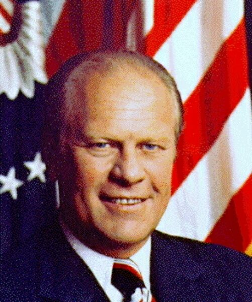 Gerald Ford 38th President Of The U.S. From 1974-77