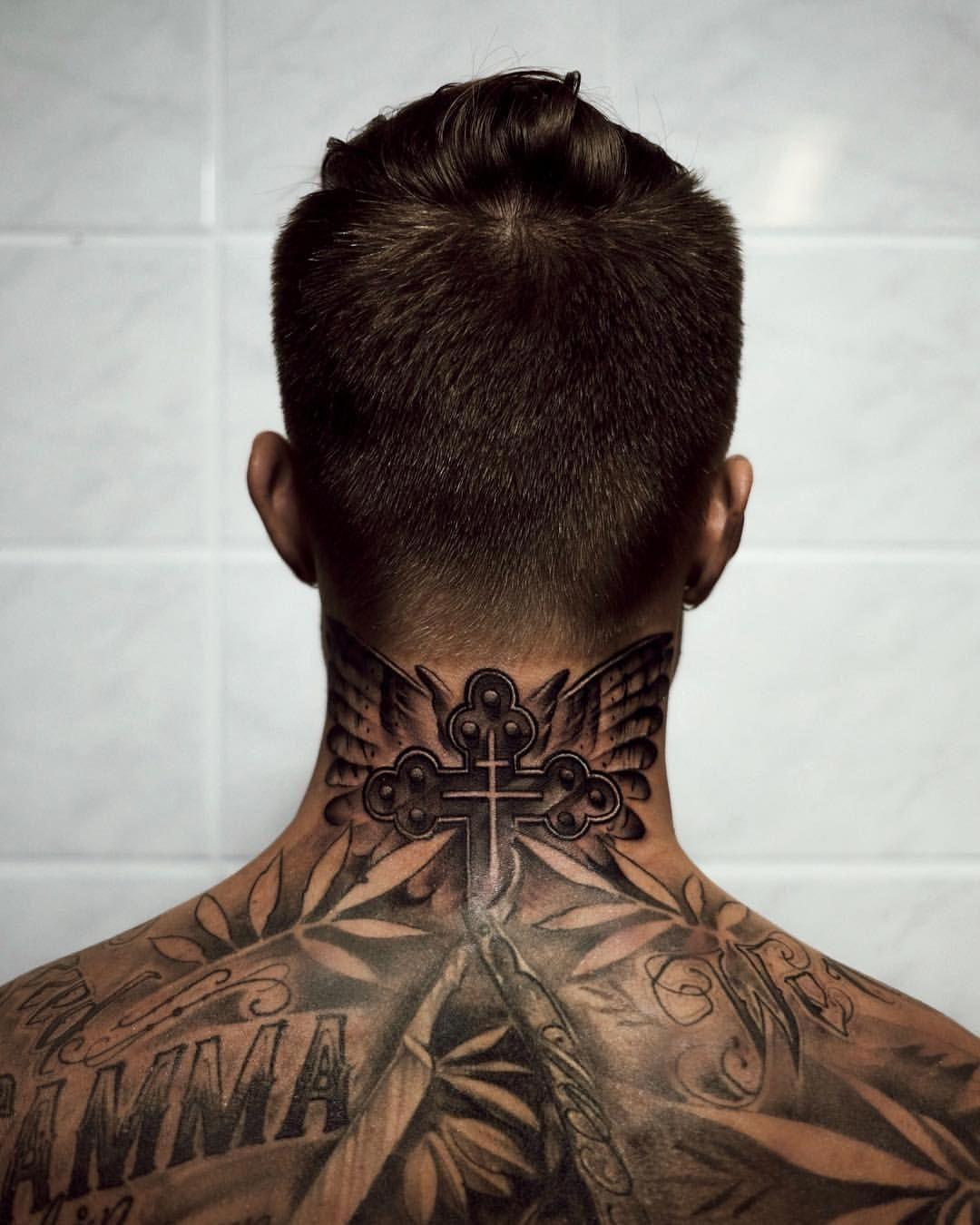 50 4 Mil Me Gusta 361 Comentarios Johnny Edlipd Johnnyedlind En Instagram New Ink By My Back Of Neck Tattoo Men Neck Tattoo For Guys Tattoos For Guys