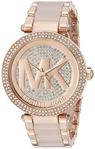 24070bed7922 Women s Wrist Watches - Michael Kors Womens Parker TwoTone Watch MK6176    More info could be