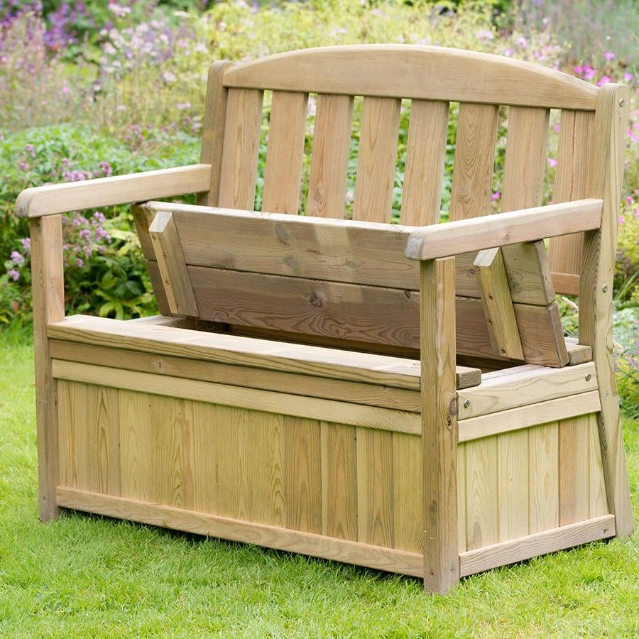 Zest4Leisure Caroline Garden Storage Bench In 2020