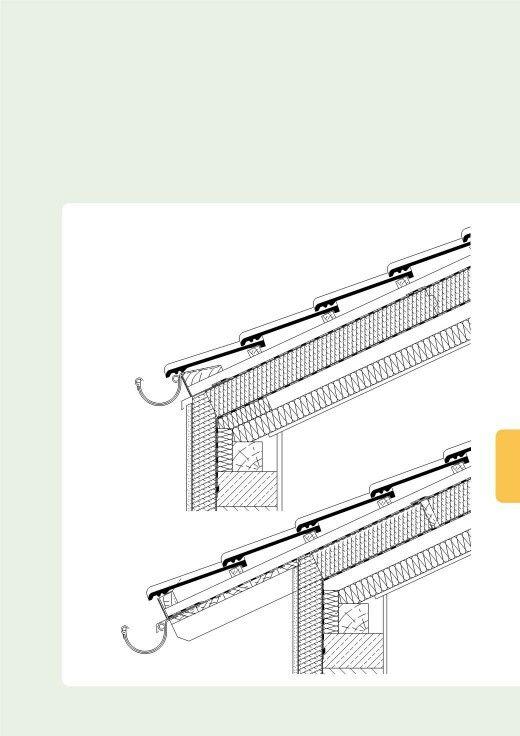 traufdetail kein dach berstand. Black Bedroom Furniture Sets. Home Design Ideas