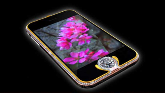 IPhone 3G King's Button: Grabbing third place is Iphone 3G king.The home  button is embedded with a high quality 6.6 carat d… | Expensive phone,  Mobile phone, Iphone