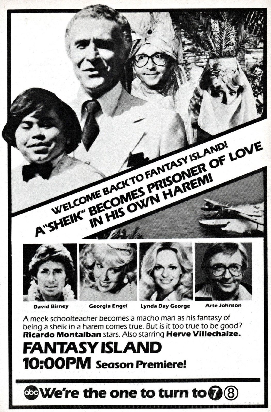 Arte Johnson Love Boat Tv Guide Ad Of Lynda As A Guest Star On The Tv Show