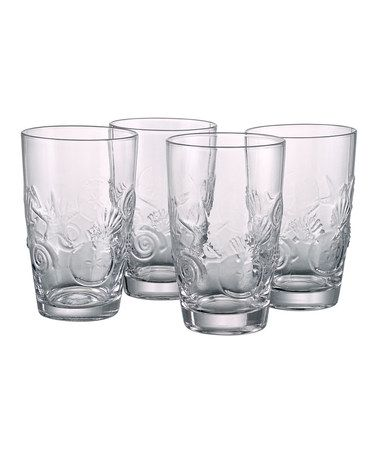 Take a look at this Artland Shell Highball Glass - Set of Four by Artland on #zulily today!