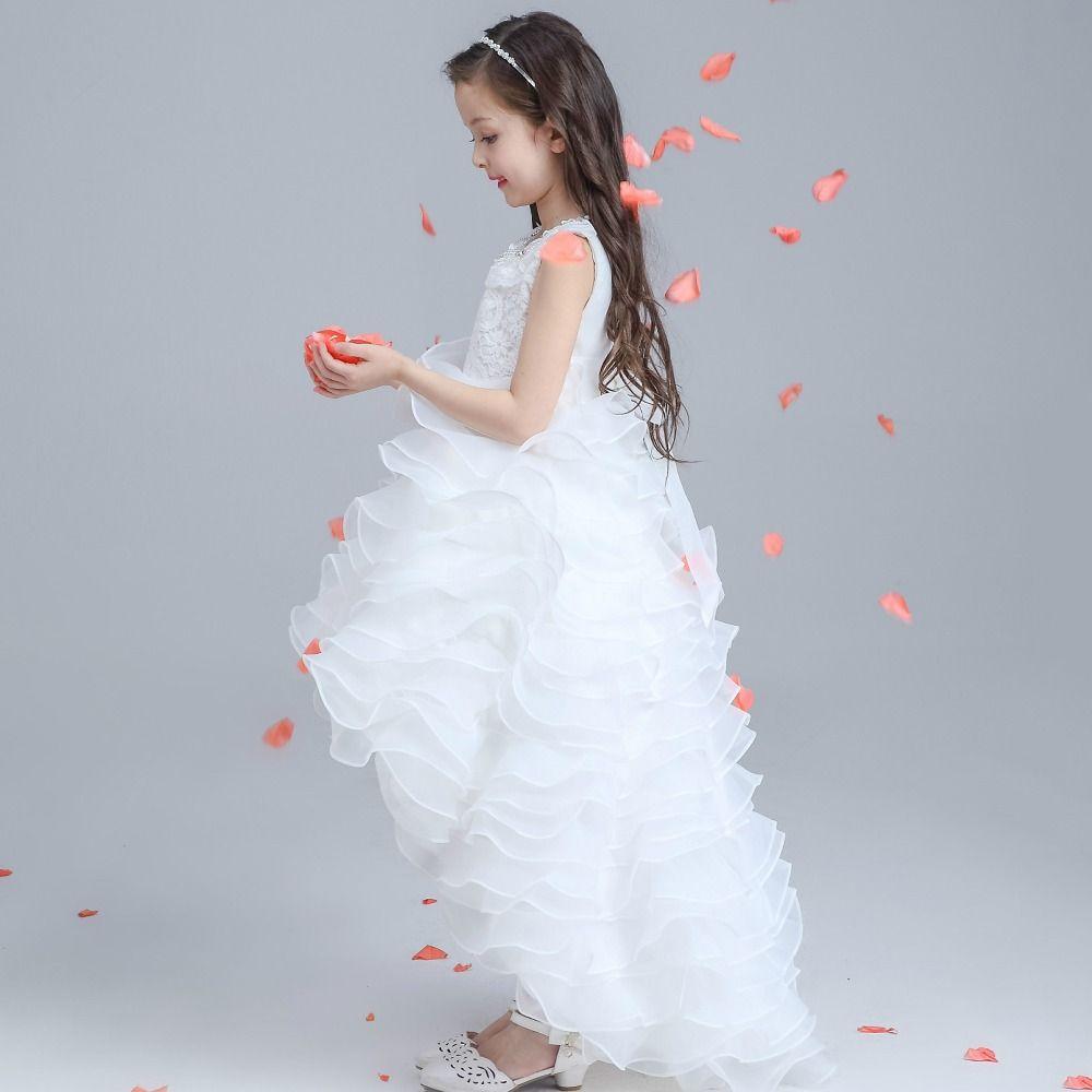 High-grade Girls Dress Children Party Ball Gown Kids Birthday Party ...