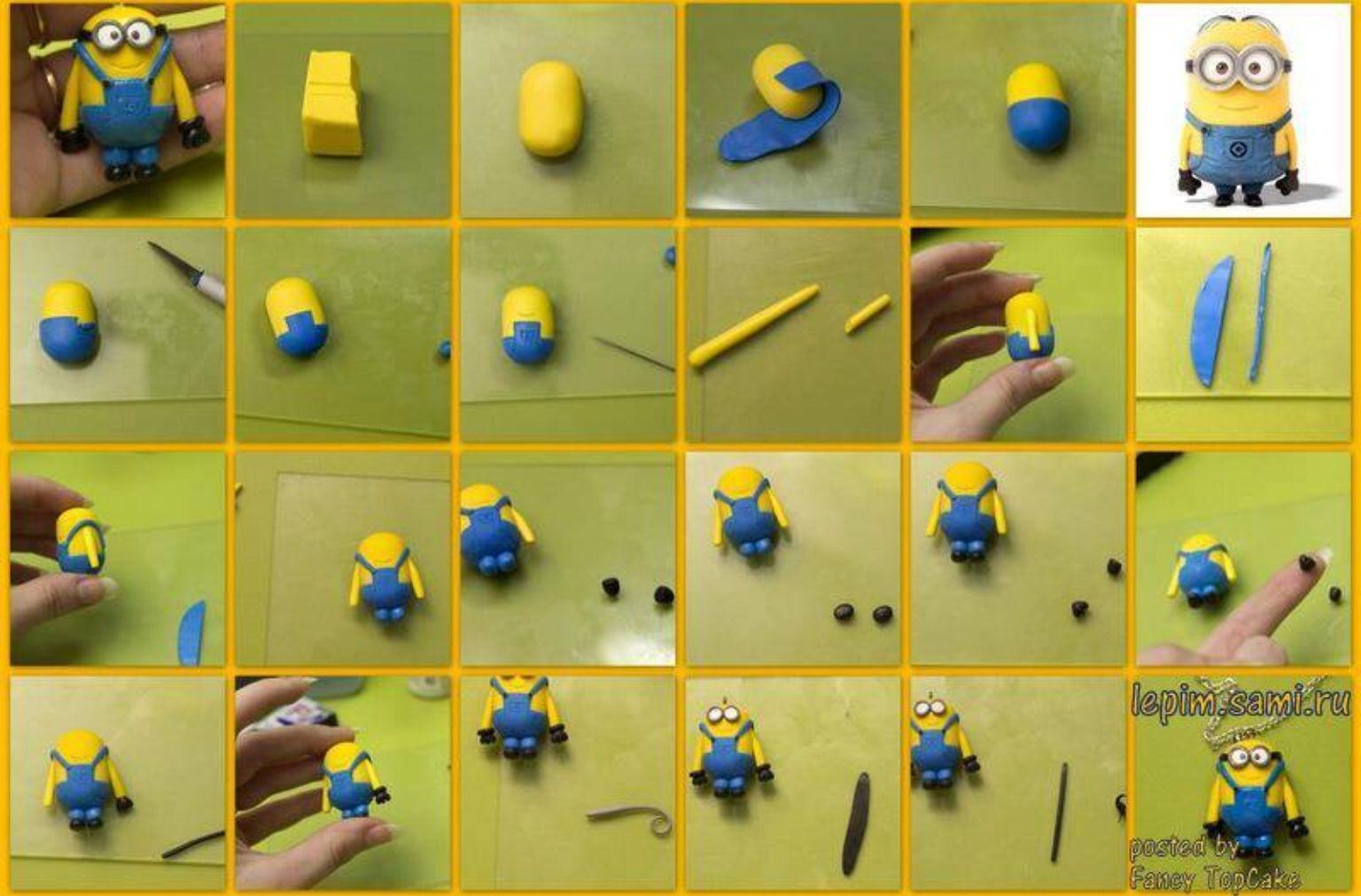 Minions fondant tutorial | despicable me | Pinterest ...
