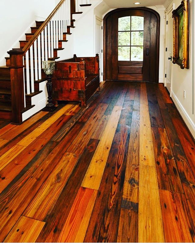 Do You Think There Will Be Reclaimed Wood Flooring In Heaven