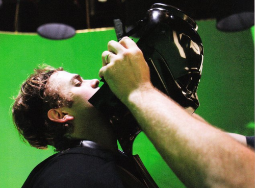 Hayden Christensen On The Set Of Star Wars Episode Iii Revenge Of The Sith Anakin Skywalker Darth Vader