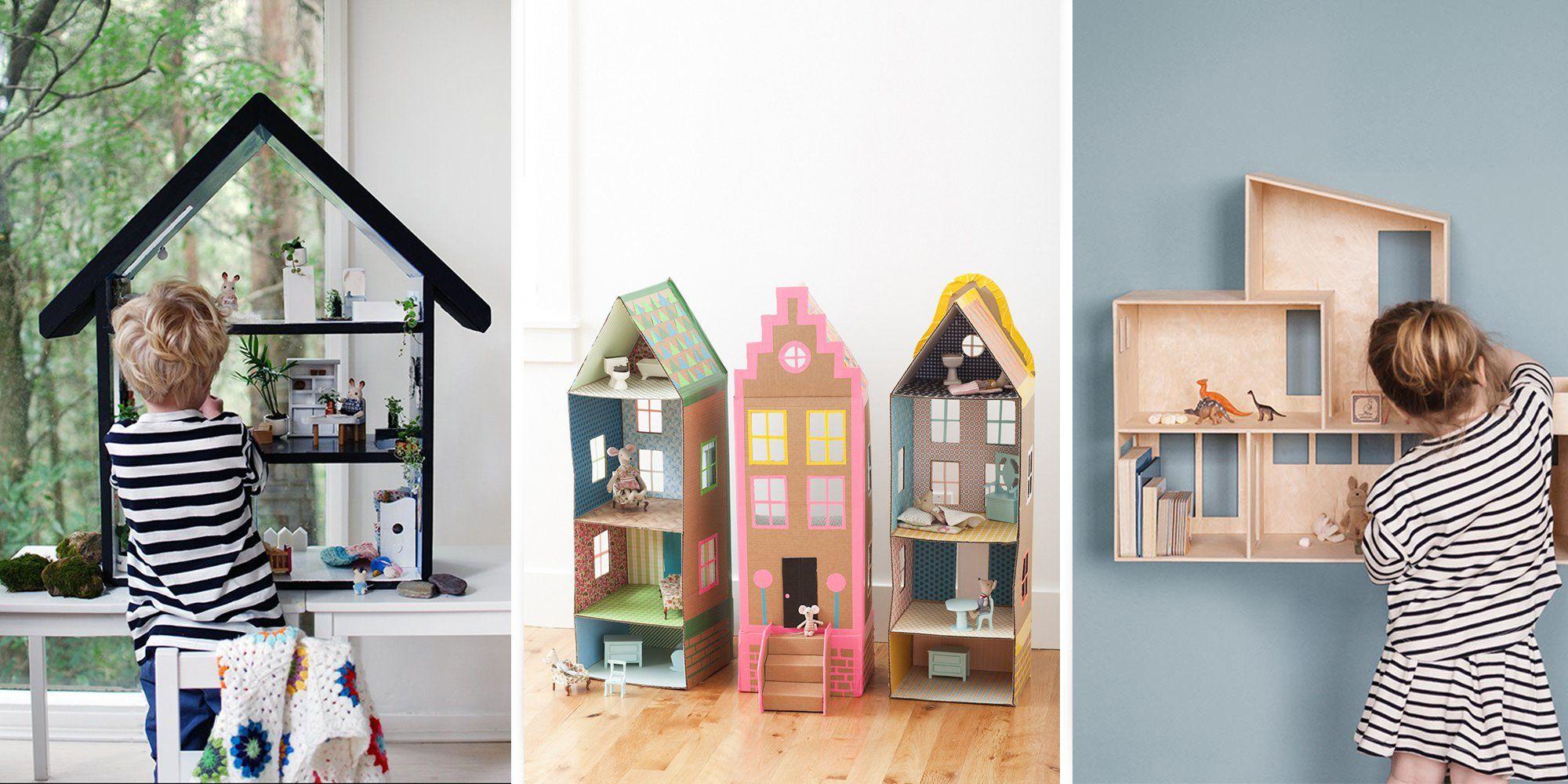 Exceptional DIY Pour Les Enfants : 10 Maisons De Poupée à Faire Soi Même