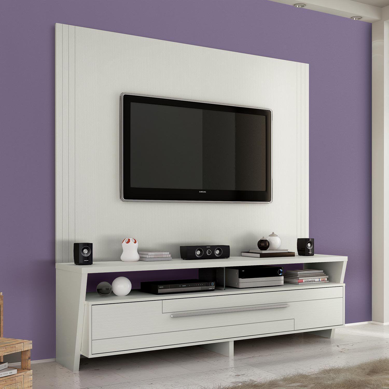 painel tv branco Pesquisa Google Painel TV