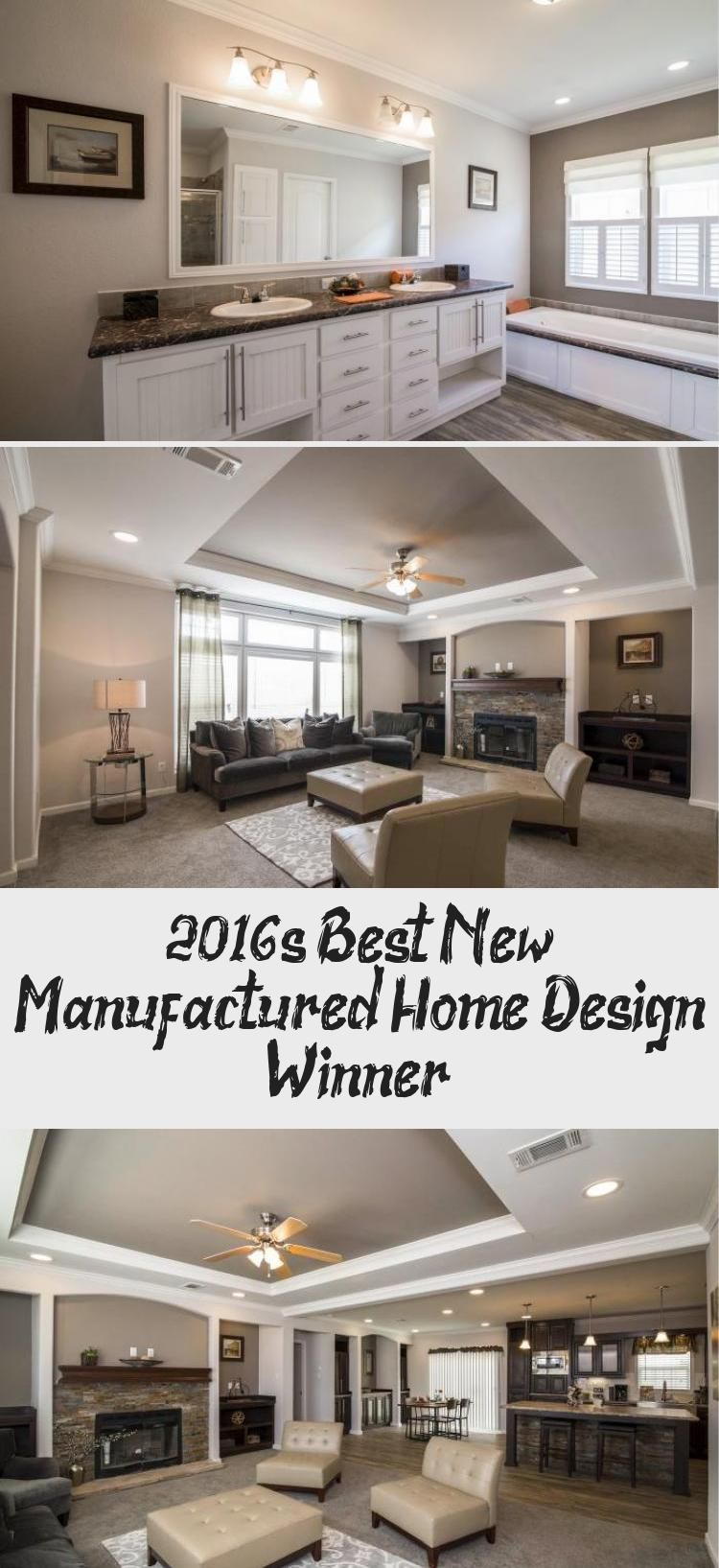 The Hillcrest IV Double Wide from Titan MHI 2016 Best
