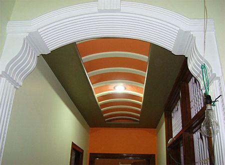 M 766 Building Design Pillar Decorative Square Pillar Gypsum