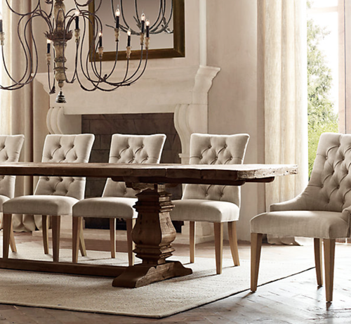 Good Monica Wants It: A Lifestyle Blog: My New Aldridge Dining Table From Home  Decorators