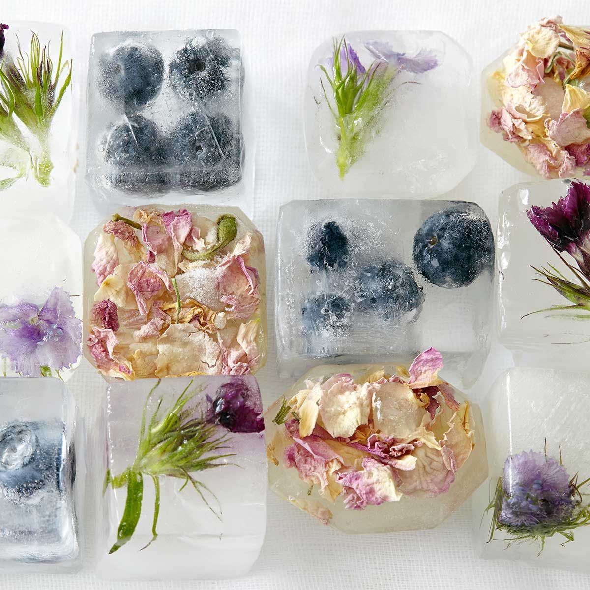 How to defrost anything! (With images) Flower ice cubes