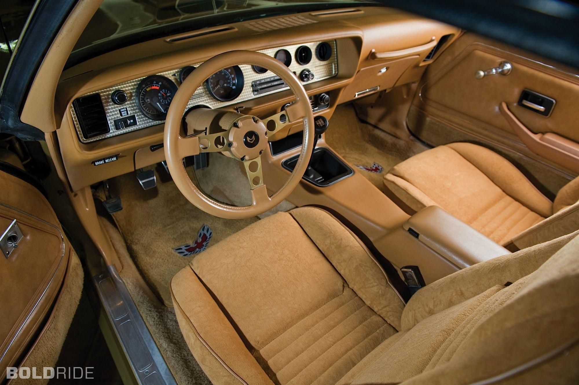 Pontiac Trans Am Gold Edition Interior Cars Pinterest Firebird Pontiac Firebird And Cars