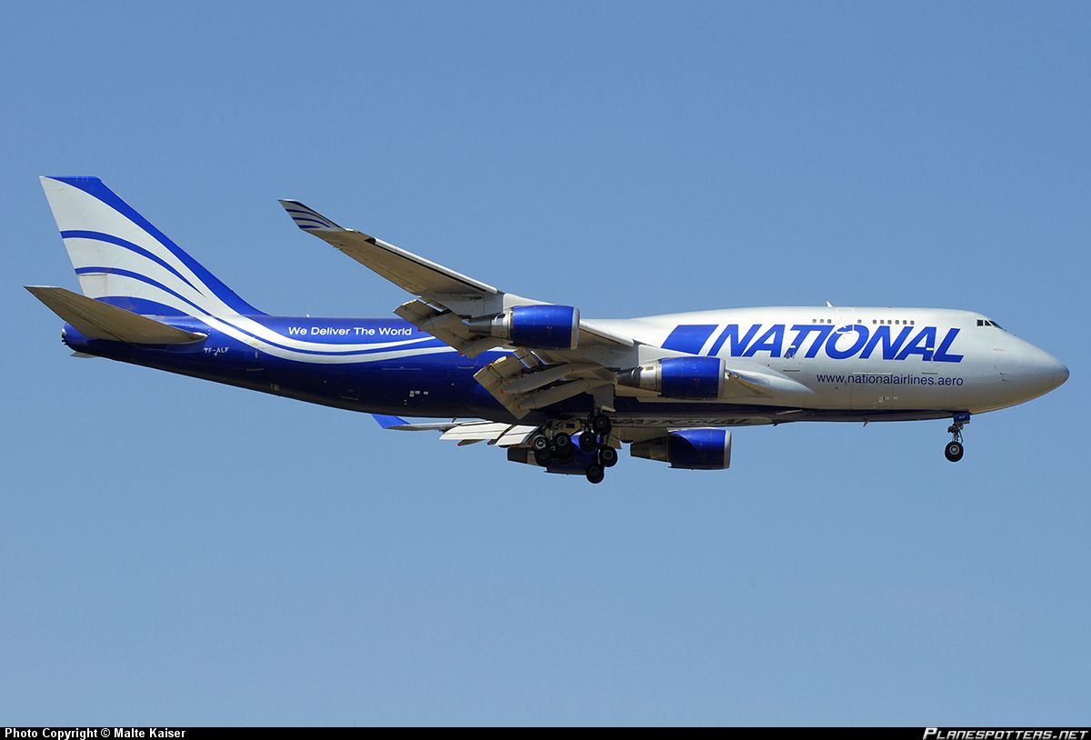 National Airlines Boeing 747-428M(BCF) | All Things ...