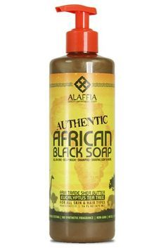 I absolutely love this product on face and body!  Product Review: Alaffia African Black Soap | The Fairest of Them All