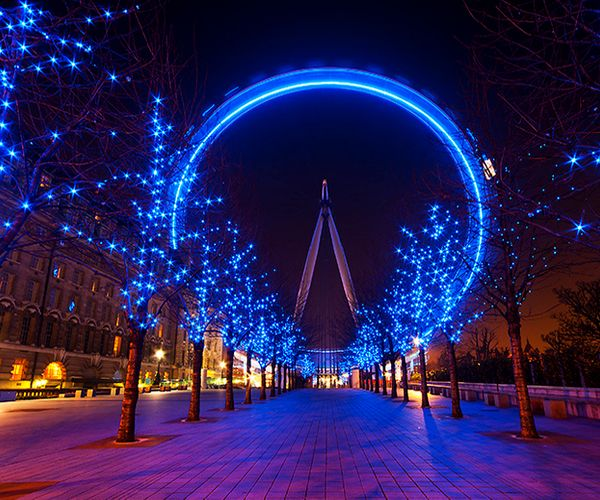 Amazing And Beautiful #Londoneye Pictures At Night