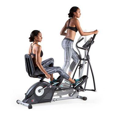 Proform Hybrid Exercise Bike And Elliptical Trainer Sam S Club Biking Workout Low Impact Cardio Workout Elliptical Training