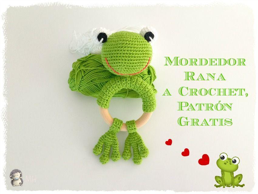 mordedor-rana-crochet-.jpg (850×638) | Crochet Ideas | Pinterest ...