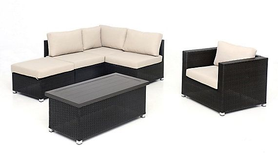 Sunset Patio Innesbrook Collection 6 5 With Tan Cushions The