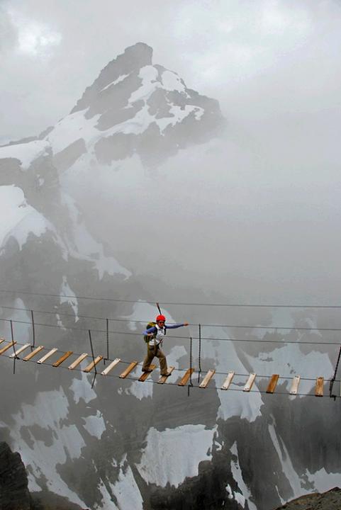 #Sky Walking, Mt. Nimbus, #Canada.. Would you try?