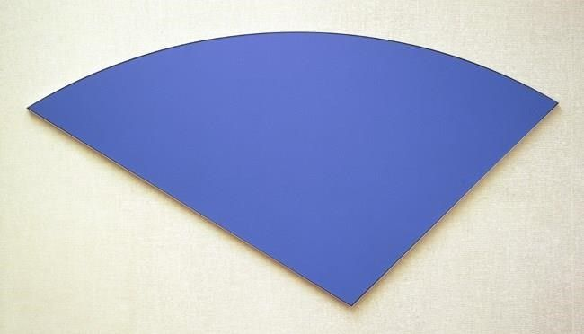 Blue Curve VI (1982) by Elsworth Kelly