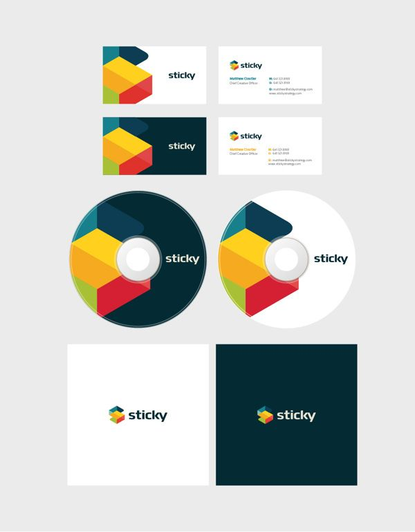 Sticky Strategy by Vidu , via Behance