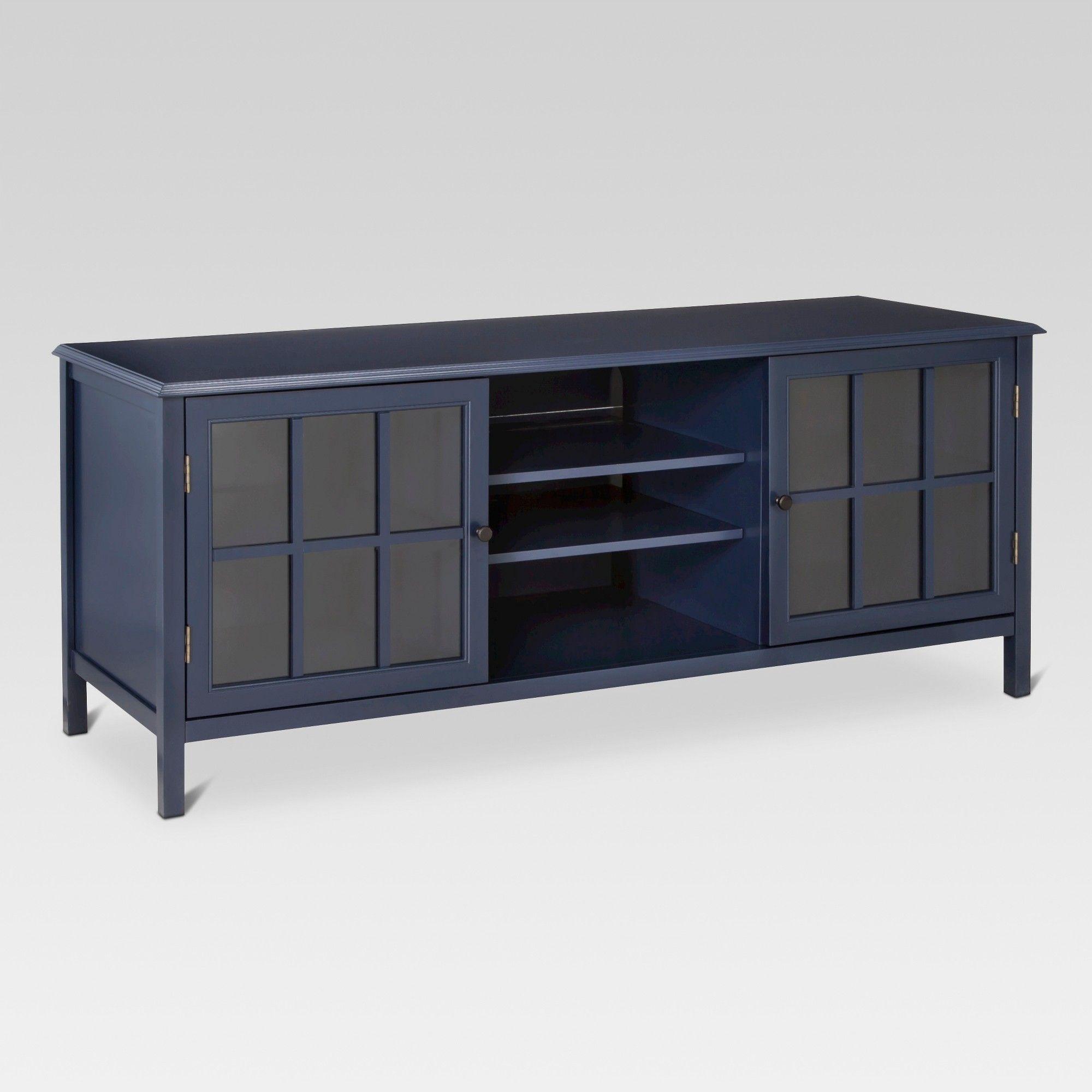 Haus vorderseite seitenwand design windham large tv stand   threshold blue in   products