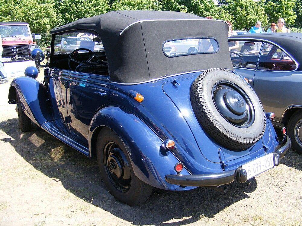 170 W136 OTP (Offener-Tourenwagen-Polizei)(1951-1952)