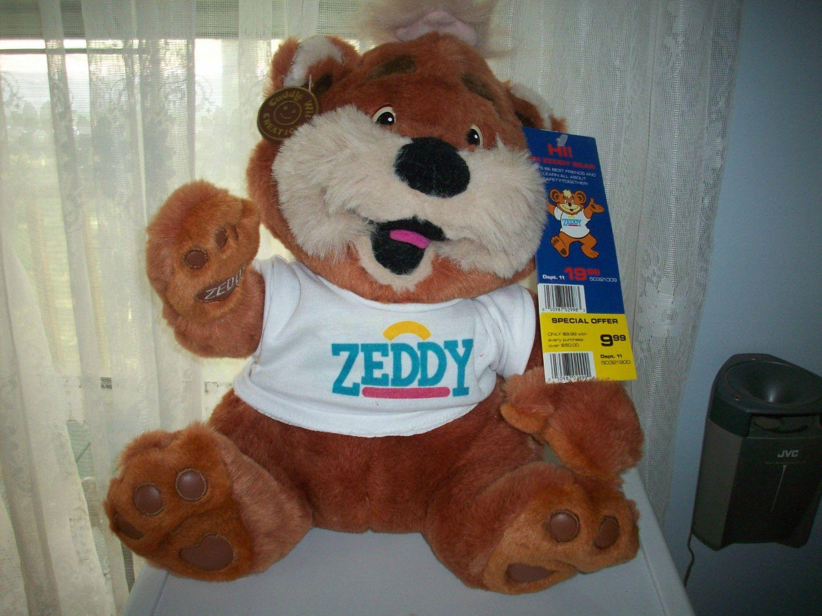 ZEDDY TEDDY BEAR ZELLERS - ALL TAGS - WOW Displayed Only | eBay | Teddy  bear, All tags, Wow!