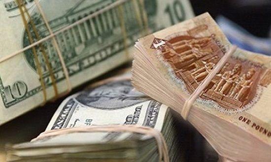 الدولار يسجل اعلى مستوى له امام العملة المحلية الاسبوع الماضي Egyptian Pound Us Dollars Money
