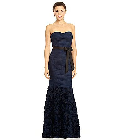 e71f0c0be479 JS Collections Strapless Ruched Gown #Dillards | For Ems | Strapless ...