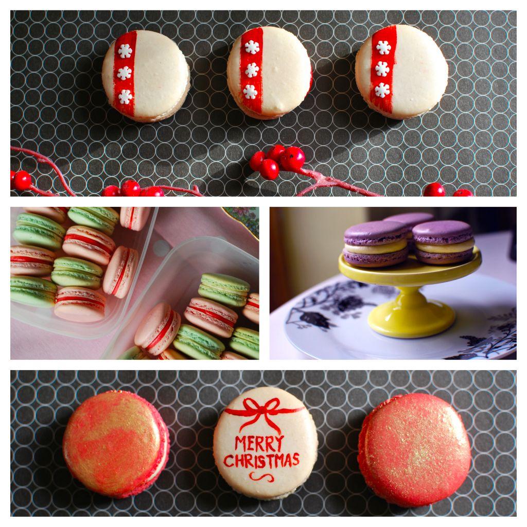 Macarons decoration | Macaroons, Macarons, Christmas