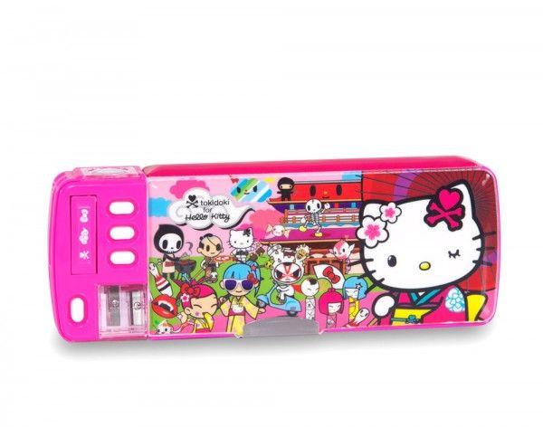 Tokidoki X Hello Kitty Kimono Deluxe Pencil Case