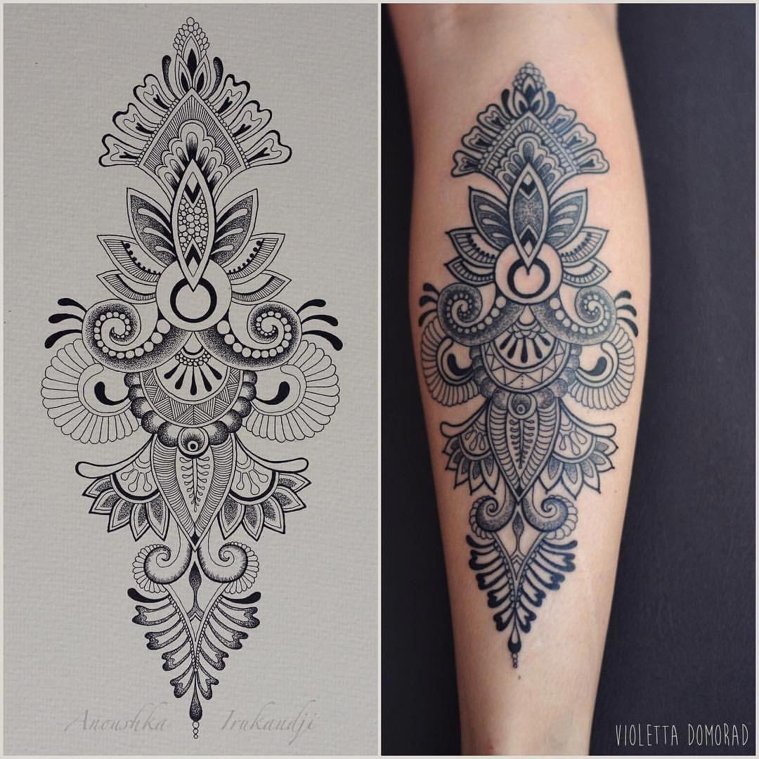 Mandala Hand Tattoo Mandalatattoo Mandala