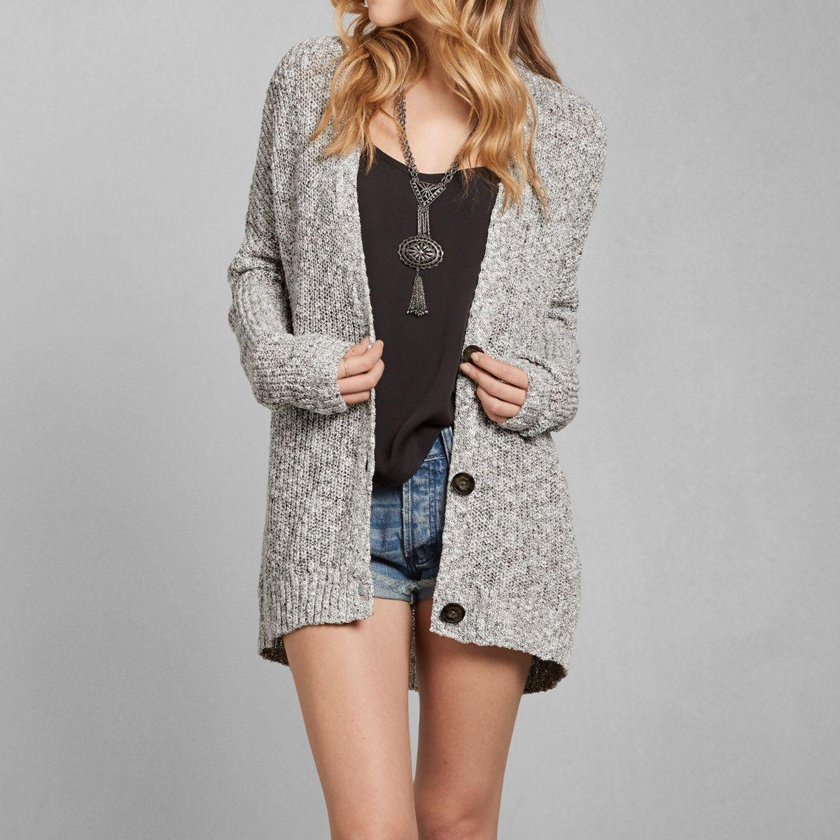 Womens Samantha Boyfriend Cardigan | Womens Sweaters | Abercrombie ...