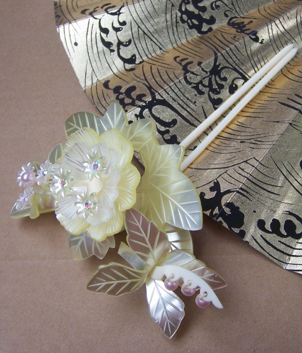 Japanese hair ornament - kanzashi 74