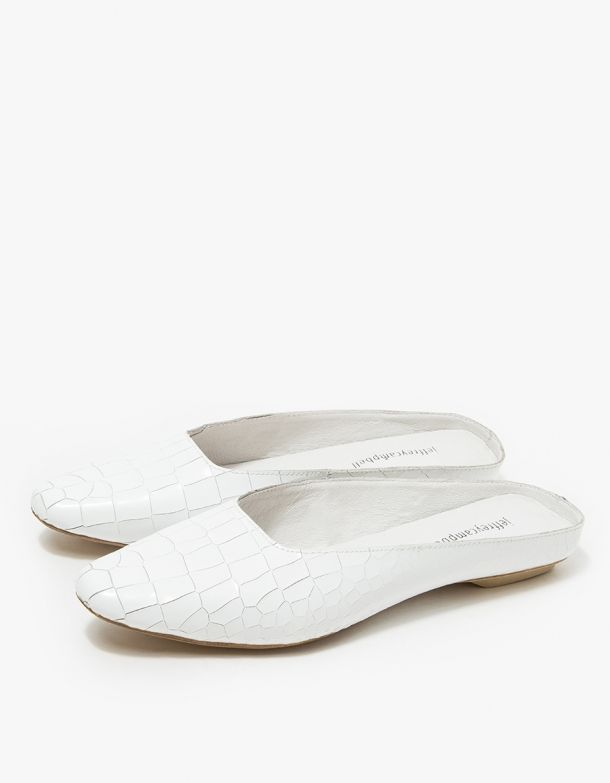 Slipper - white/stone