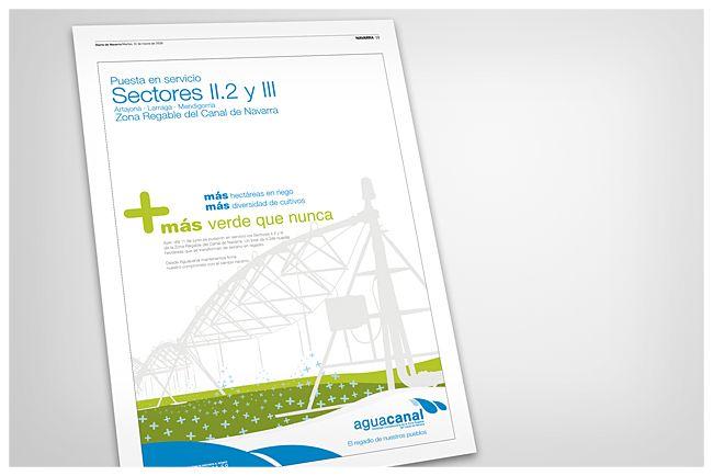 Publicidad de Aguacanal // Aguacanal advertisment
