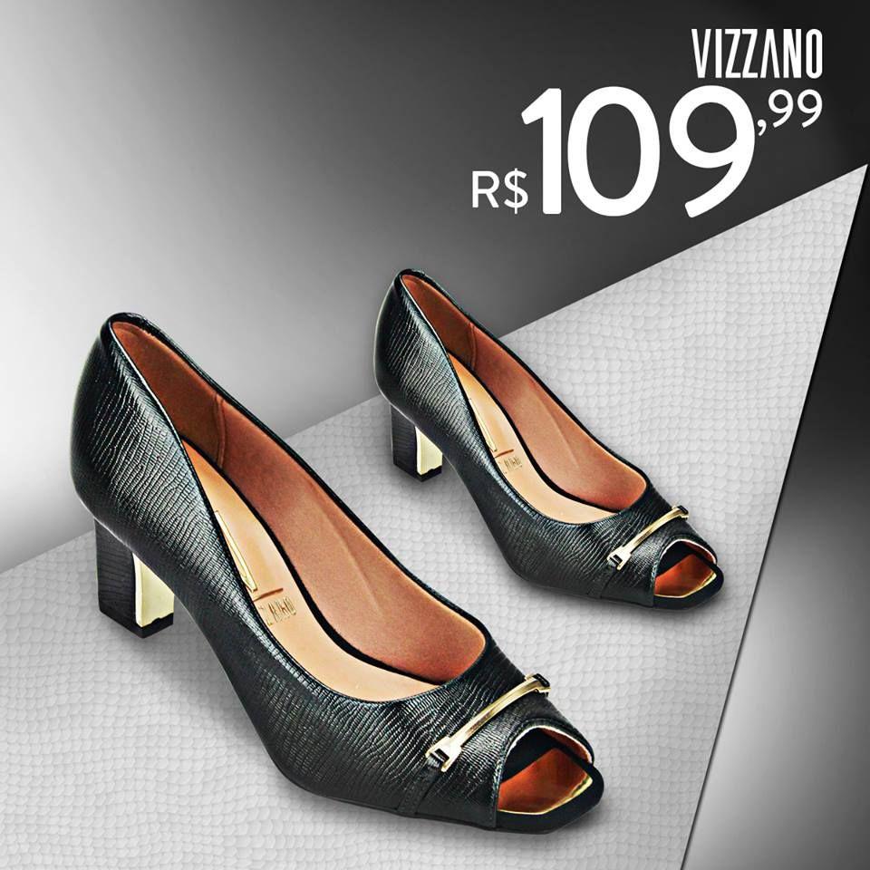 NÃO PERCA ESSA OPORTUNIDADE SAPATO VIZZANO de R$ 140,00 por R$ 109,99 COMPRE ONLINE!!.