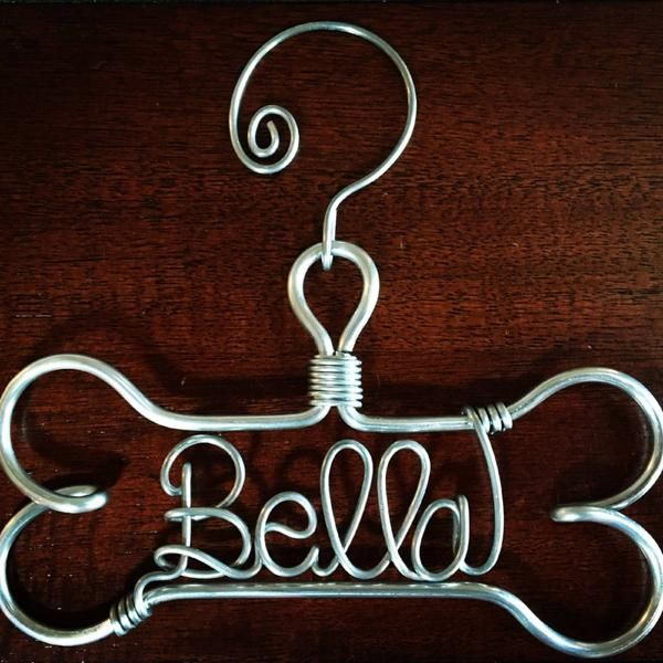 The Original Dog Bone Ornament Personalized With Pet Name