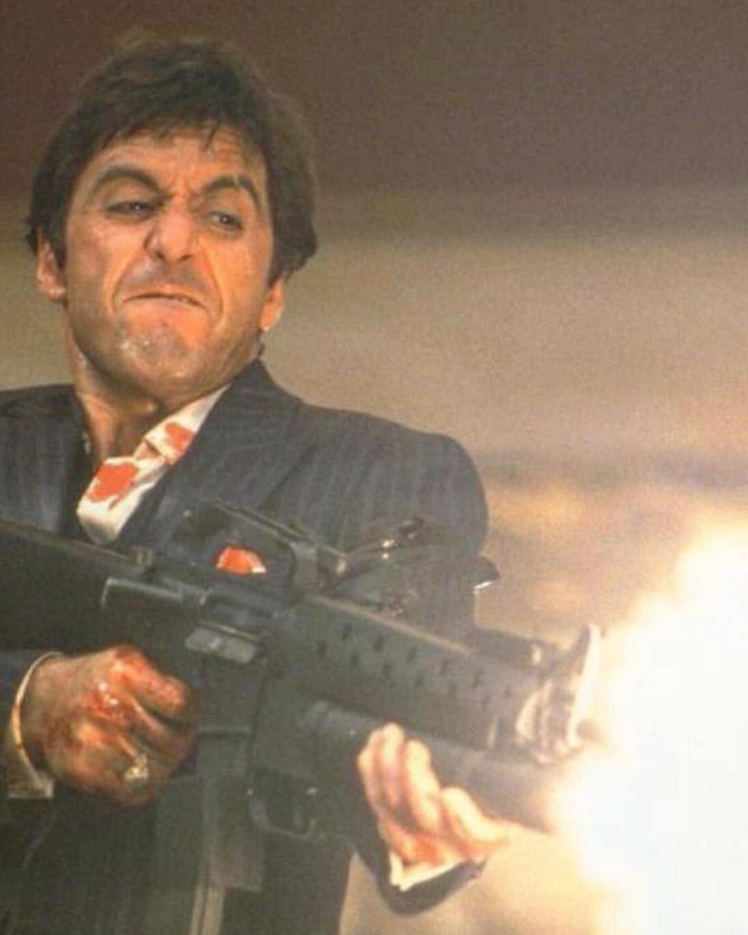 """""""You wanna play rough?"""" Scarface (1983) Scarface, Al"""