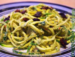 Raw vegan pesto with zucchini noodles by tracy russell this is one raw vegan pesto with zucchini noodles by tracy russell this is one of the best raw forumfinder Image collections